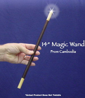 Exotic Wood Magic Wand 14 inch