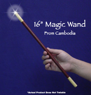 Exotic Wood Magic Wand 16 inch