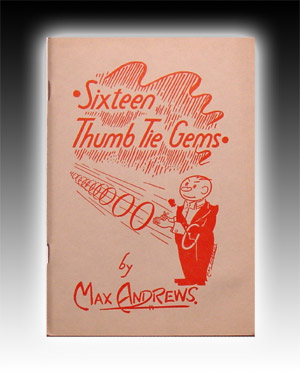Sixteen Thumb Tie Gems by Andrews