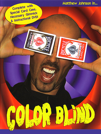 Color Blind DVD by Matthew Johnson