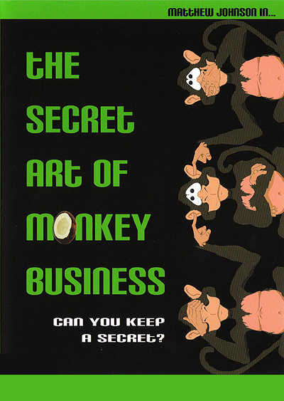 Secret Art of Monkey Business DVD by Matthew Johnson
