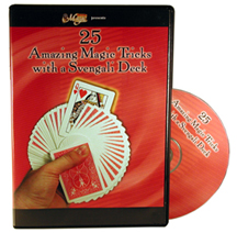 25 Amazing Magic with a Svengali Deck DVD