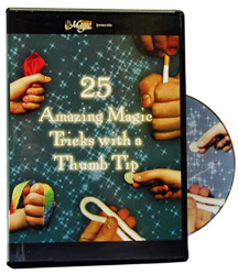 25 Amazing Magic w/Thumbtip DVD