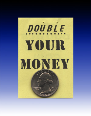 Double Sided Quarter (Heads or Tails)