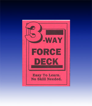 Three Way Force Deck (Bicycle)