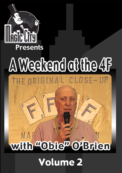 Weekend at the 4F w/ Obie O'Brien Volume 2