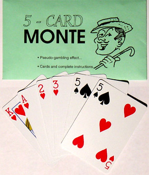 Five Card Monte (Bicycle)