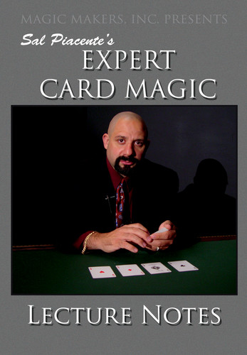 Expert Card Magic: Volume 1 by Sal Piacente