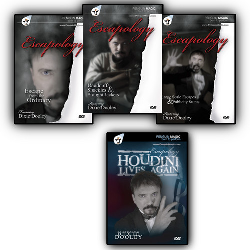 Escapology Set of 4 DVDs by Dooley