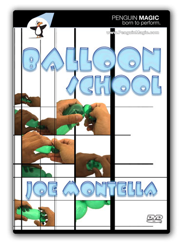 Balloon School with Joe Montella DVD