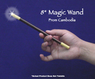 Exotic Wood Magic Wand 8 inch