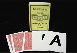 Alphabet Deck (Aviator)