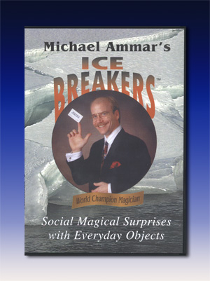 Ice Breakers DVD by Michael Ammar