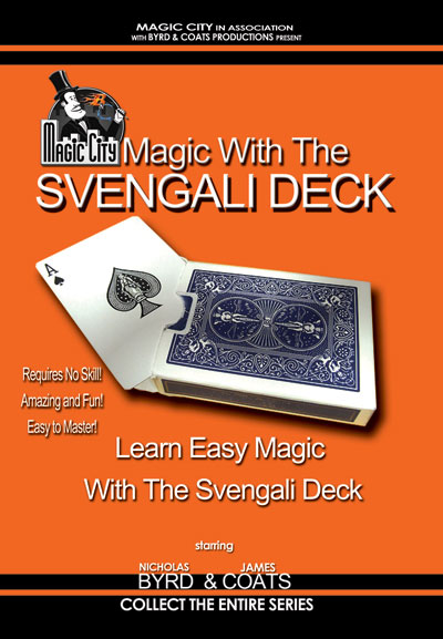 Magic With The Svengali Deck DVD