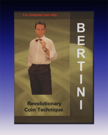 Bertini Coin Magic DVD