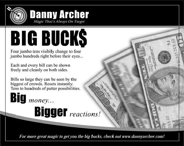 Big Bucks by Danny Archer