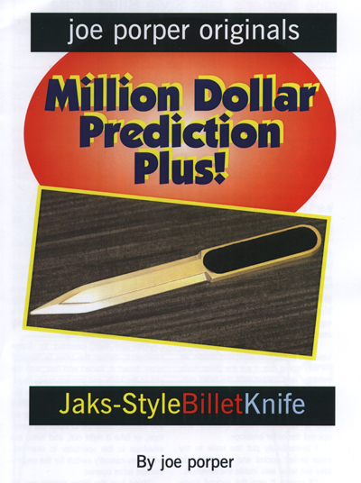 Billet Knife Jaks-Style by Joe Porper