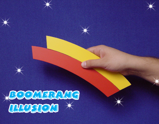 Boomerang Illusion by Jay Leslie