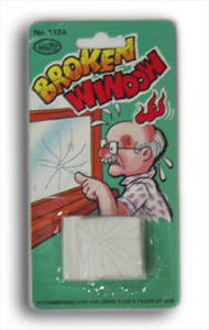 Broken Window Gag set of 6