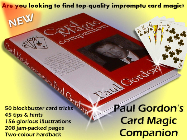 Card Magic Companion by Paul Gordon