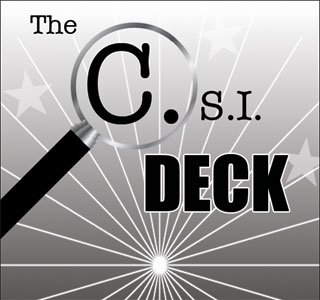 CSI Deck (Poker Bicycle)