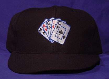 Cap w/Embroidered Magic Cards