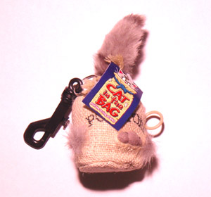 Cat In The Bag Keychain (electric)