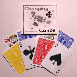 Changing Cards