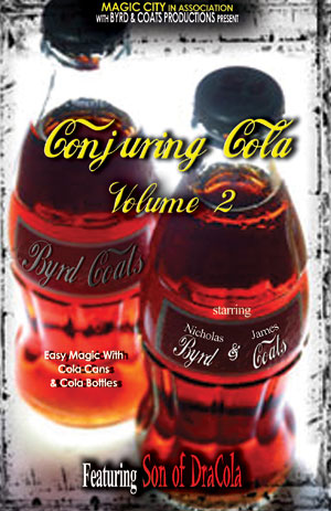 Conjuring Cola DVD (Volume Two)