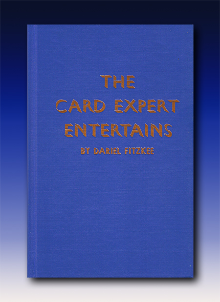 Card Expert Entertains by Dariel Fitzkee Hardbound
