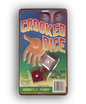 Crooked dice coupon