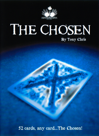 Chosen DVD by Tony Chris