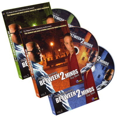 Between 2 Minds by Guy Bavli & Haim Goldenberg (3 DVD Set!)