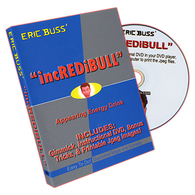 �incREDiBULL� DVD and Prop by Eric Buss