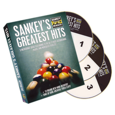 Sankey's Greatest Hits (3 DVD Set) by Jay Sankey - DVD