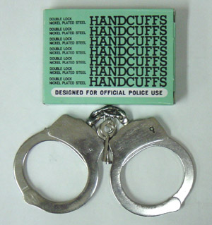 Handcuffs (Double Lock) chrome