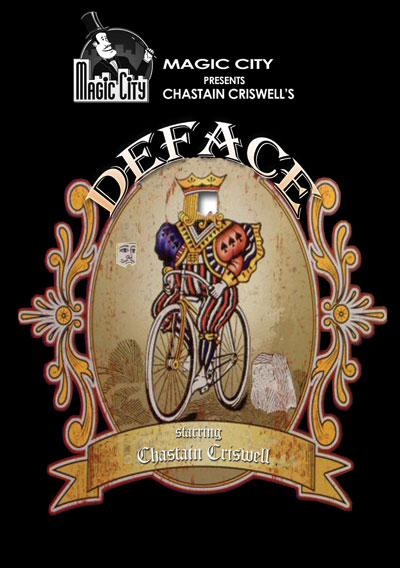 Deface by Chastain Criswell w/DVD