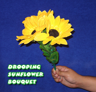 Drooping Sunflower Bouquet