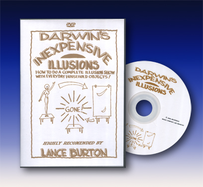Darwin's Inexpensive Illusions DVD (Discontinued)