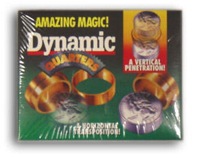 Dynamic Coins Quarters Brass Set