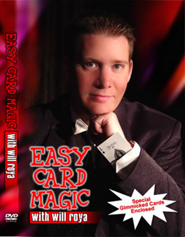 Easy Card Magic DVD by Will Roya