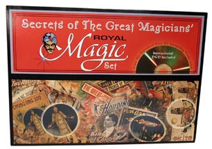Great Magicians Set with DVD