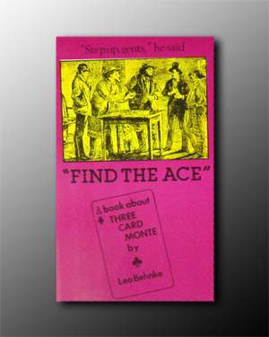 Find The Ace (3 Card Monte Book)