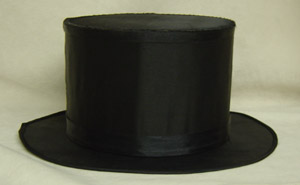 Folding Top Hat (Black Cloth)