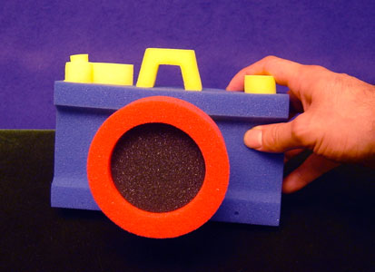 Foam Camera (Jumbo) by Goshman