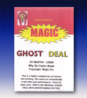 Ghost Deal by Martin Lewis