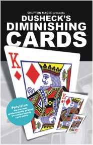 Dusheck's Diminishing Cards