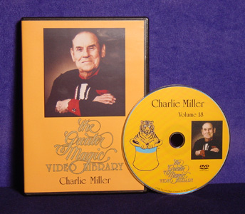 Greater Magic #18 DVD: Charlie Miller