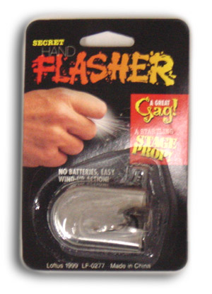 Hand Flasher (Funken Ring)