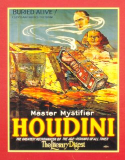 Houdini Poster (Buried Alive)